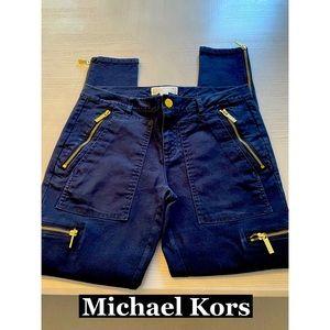 Michael Kors Zipper Skinny Pants Sz 6
